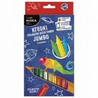 Mergi la Set Jumbo 12 Creioane Colorate Kidea