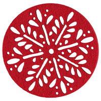 Set Linea rosu Folk Coaster