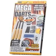 Set Mega Darts Steel