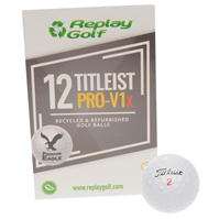 Set mingi golf Replay Titleist Pro V1x 12