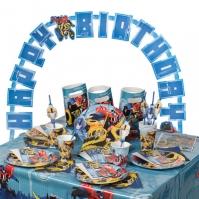 Set Pentru Petreceri Copii Transformers
