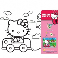 Set Pictura Cu Tablou Hello Kitty
