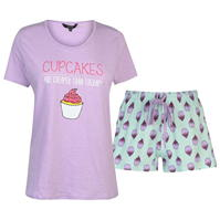 Set pijama cu pantaloni scurti Miso pentru Femei