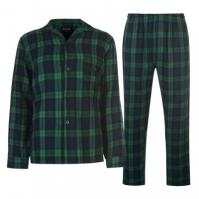 Set Pijamale Howick Howick cu dungi in carouri pentru Barbati
