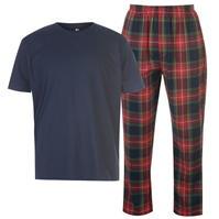 Set Pijamale Pantaloni Howick Howick cu dungi Tartan pentru Barbati