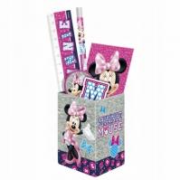 Set Rechizite Cu Suport Pixuri Disney Minnie Mouse