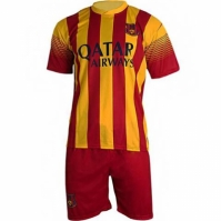 Set REPLICA MESSI SPORT 10 galben rosu 201314