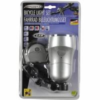 Set BICYCLE GEAR Light 2 10 Lux 54533 barbati