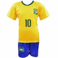 Set Sport Replica Neymar Brazil Cupa Mondiala 2018 copii
