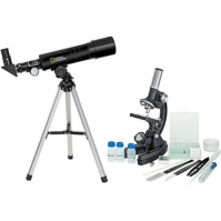 Set Telescop+microscop Pentru Copii National Geographic
