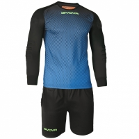 Set echipament portar Givova Manchester Portiere albastru and negru barbati