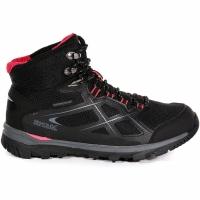 Shoes Regatta WMS Kota Mid negru And roz RWF490 7HQ femei