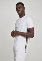 Side Taped Tee alb-multicolor Urban Classics
