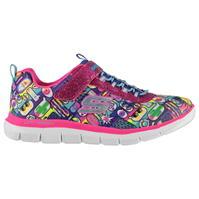 Adidasi sport Skechers Appeal 2 Chatty Chatty pentru fete