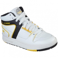 Adidasi inalti Skechers L.A Gear Slim pentru femei alb