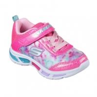 Adidasi sport Skechers Litebeams pentru fete pentru Bebelusi