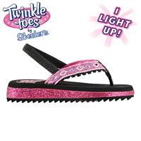 Papuci de plaja Skechers Twinkle Toes pentru fete
