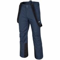 Pantaloni SKI 4F H4Z17 SPMN001 bleumarin melange barbati
