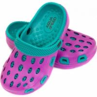 Slapi Pool Aqua-speed Silvi Kol 09 Violet albastru copii