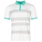 Tricouri polo cu dungi Slazenger Print Shirt pentru Barbati