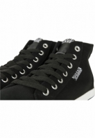 Sneaker High Top Canvas negru-alb Urban Classics