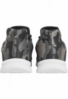 Sneaker Trend camuflaj-negru Urban Classics alb