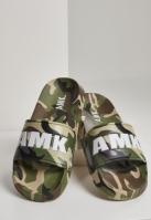 Soldier AMK Slides verde-camuflaj