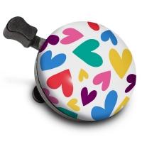 Sonerie de bicicleta Nutcase Happy Hearts Bell