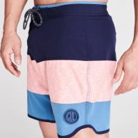 Pantaloni scurti Gul Retro Board pentru Barbati bleumarin peach stee