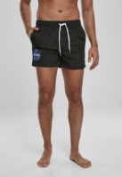 Sort inot NASA EMB Logo negru Mister Tee