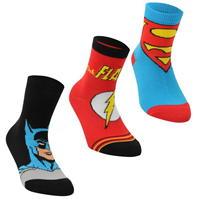 Set de 3 Sosete DC Comics Superman Crew pentru copii