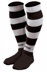 Sosete fotbal Joma imprimeu zebra 101 negru-alb