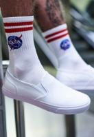Sosete NASA alb Mister Tee
