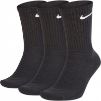 Sosete Nike Everyday Cushioned Crew 3 Pairs negru SX7664 010
