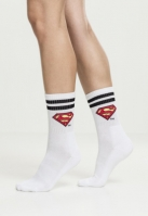 Sosete Superman Double . negru-alb Merchcode