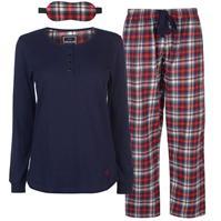 Pijamale SoulCal 3 Piece Flannel pentru Femei