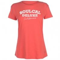 Tricou SoulCal Applique pentru Femei