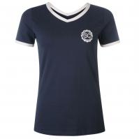 Tricou SoulCal Badge cu decolteu in V pentru Femei