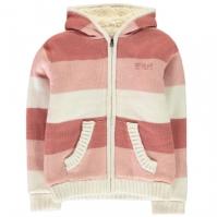 SoulCal cu dungi cu captuseala tricot pentru fetite