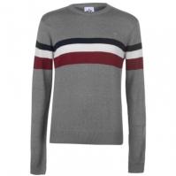 Soviet Chest cu dungi tricot
