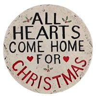 Spiritul Craciunului Hearts Come Home Plaque