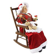 Spiritul Craciunului Mrs Claus Chair Ornament