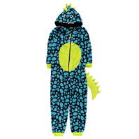 Pijama salopeta Crafted Dinosaur pentru baieti pentru copii