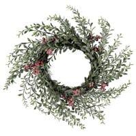 Spiritul Craciunului rosu Berry Wreath 94