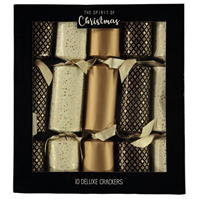 Spiritul Craciunului 10 Deluxe Crackers
