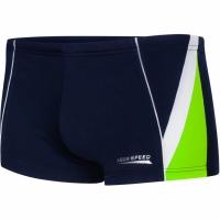Boxeri inot AQUA-SPEED DIEGO bleumarin / verde alb 04/2340 copii