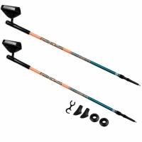 Sticks For Nordic drumetie Spokey Meadow portocaliu albastru 927833