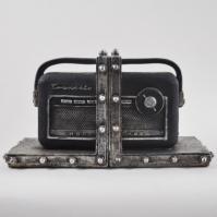 Suport carti - Aparat de radio vintage