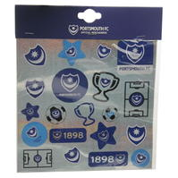 Team fotbal Foil Print Stickers