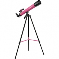 Telescop Refractor Pentru Copii Bresser 45600 Az roz